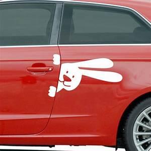 stickers et autocollants voiture sticker lapin With carrelage adhesif salle de bain avec led feux arriere voiture