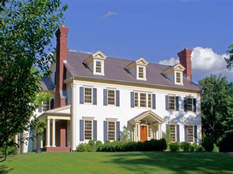 New Colonial House Plans  Home Design And Style
