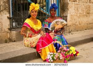 Traditional Cuban Dress Women