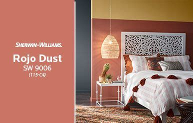 sherwin williams rojo dust sw  red paint colors