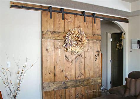 Barn Doors Pictures by Wide Rustic Barn Door Kleinworth Co