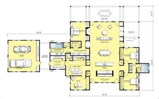 modern open floor house plans open modern floor plans modern house
