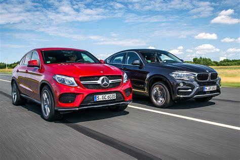 2015 bmw x6 m vs. First comparison Mercedes GLE Coupe vs BMW X6 by Auto Bild ...