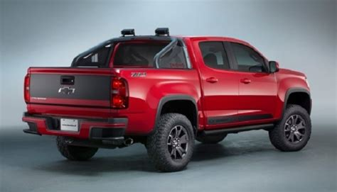 2019 Chevy Colorado Z71  Changes, Specs And Price 2018