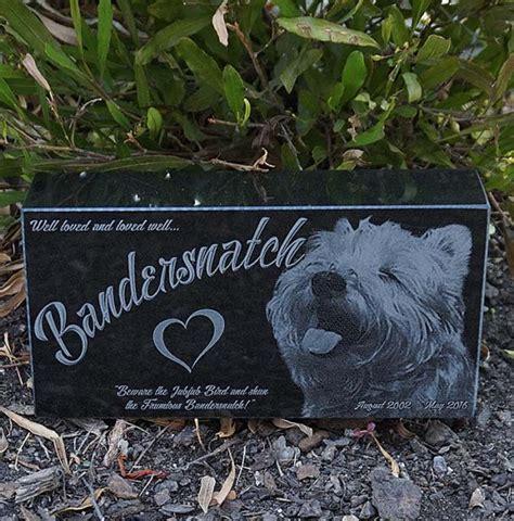 custom pet monument granite pet memorial laser engraved