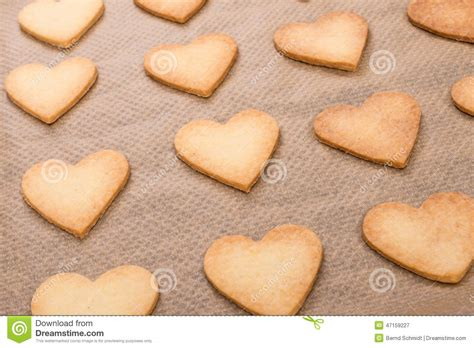 coeur de p 226 te bris 233 e cuite au four photo stock image 47159227