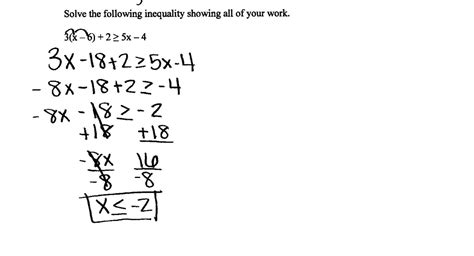 multi step equations and inequalities worksheet answers