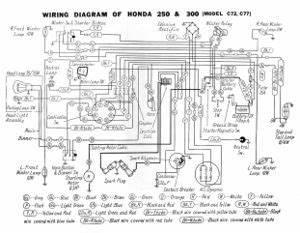 Wiring Diagram Honda Dream