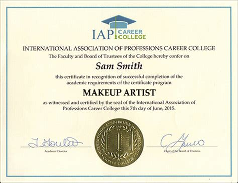 Makeup Artist Certificate Course Online. Illinois Teaching Certification. Magento Developer Los Angeles. Soul Order Online Private Server. Best Secured Card To Build Credit