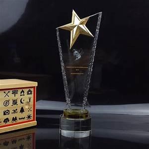 Online Get Cheap Crystal Star Trophy