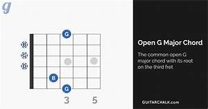 G Chord Guitar Reference With Diagrams And Tabs