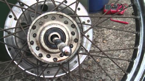 Motorcycle Wheel-bearing Replacement