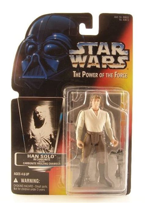 Star Wars Power of the Force 2 Red Card Han Solo In ...