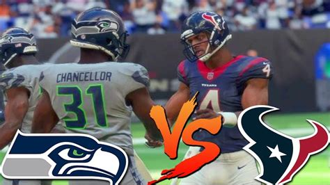 madden  ranked gameplay texans    fence seahawks