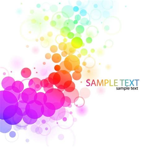 vector abstract colorful background vector free download