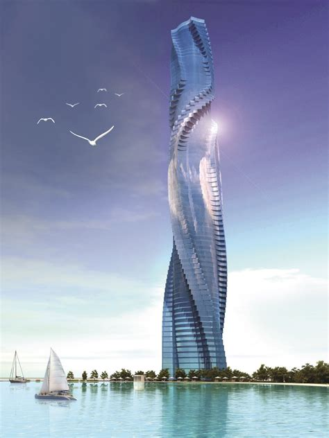 fresh spin design plans reignited  rotating tower