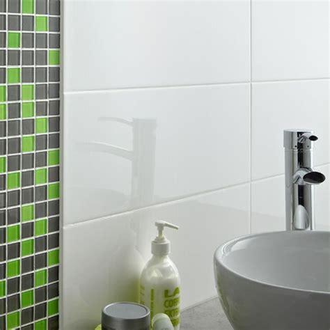 carrelage mural loft blanc brillant et mosa 239 que vert gris carrelage et rev 234 tements muraux