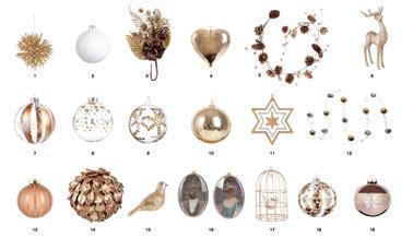 les collections de noël de maisons du monde et truffaut deco maison du monde gold