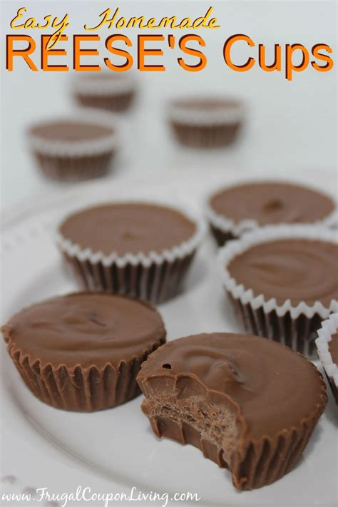 easy homemade reeses cups