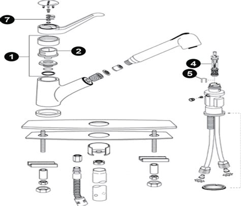 moen kitchen faucet parts diagram moen kitchen faucet diagram 28 images moen kitchen