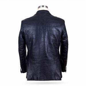 Genuine Alligator Skin Jacket And Luxury Alligator Skin Jacket For Men