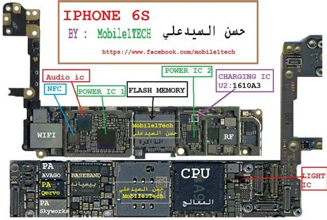 All Iphone 4 Diagram by Iphone 6 Schematic Diagram Mobile Solution