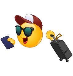 vacation emoji vector images
