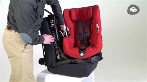 siege pivotant bebe confort installation du siège auto groupe 1 axiss de bebe confort