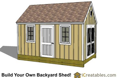10 X 16 Colonial Shed Plans by 10x16 Colonial Shed Plans Icreatables Sheds