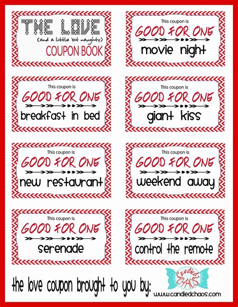 coupon book template for boyfriend coupons search template gift and project ideas