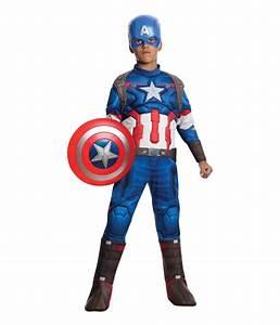 Marvel, Captain, America, Boys, Costume