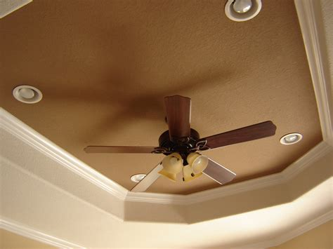 recessed ceiling fan for a sleek ceiling look homesfeed