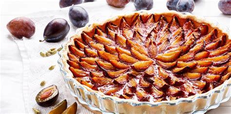 tarte aux prunes toutes nos recettes marie claire