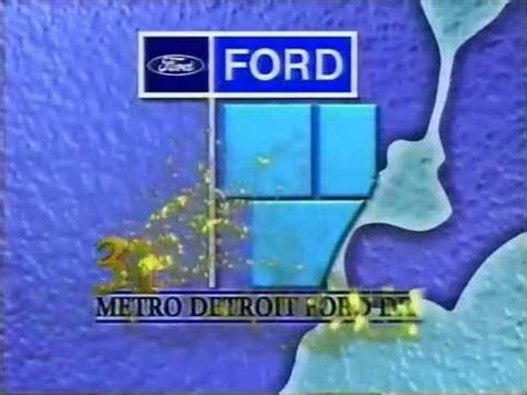 1998 Detroit Ford Dealers Commercial: Senior Players