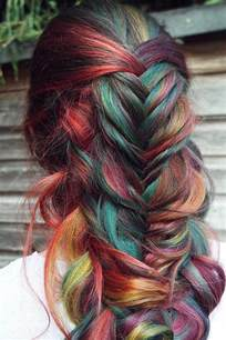 Best 25 Rainbow Hair Ideas On Pinterest Crazy Color