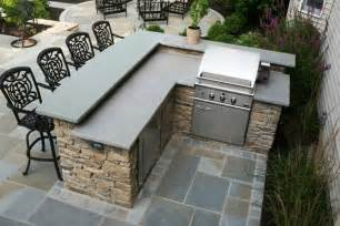 Outdoor Bar and Grill Plans