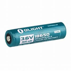 Olight 18650 Lithium-ion 3600mah Battery