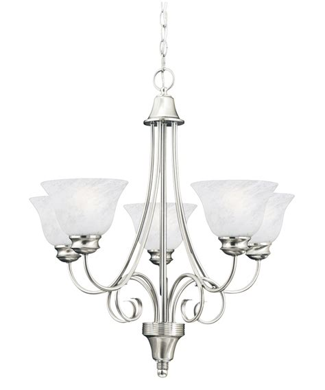 brushed nickle dining room light fixtures hanging