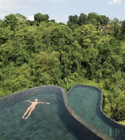 The Ubud Hotel And Resort In Bali With Infinity Pool