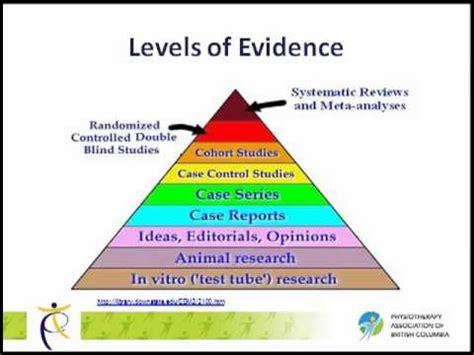 understanding levels  evidence   levels