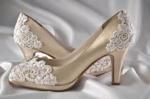 chagne colored wedding shoes wedding shoes womens shoes pbt 0826a vintage wedding lace