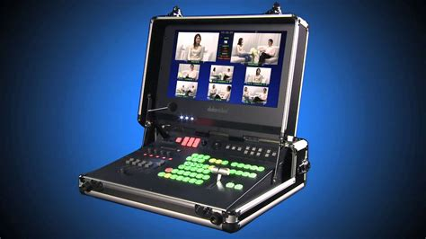Datavideo HS-2000 HD 5 - Channel Portable Video Studio ...