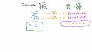 Lesson  Cube Roots Of Rational Numbers