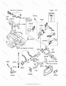Kawasaki Motorcycle 2007 Oem Parts Diagram For Ignition