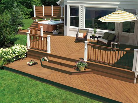 deck ideas for backyard how to determine your deck style hgtv