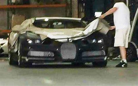 Bugatti Chiron Prototype Spied In Los Angeles