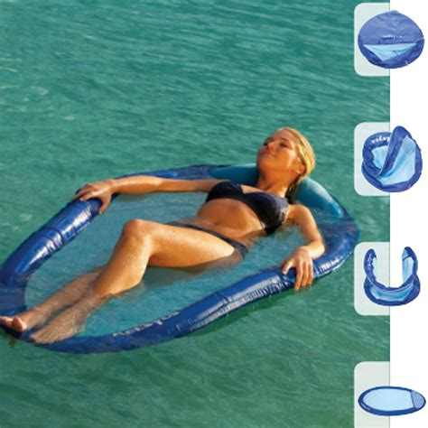 cheap floating large portable floating water hammock dfohome
