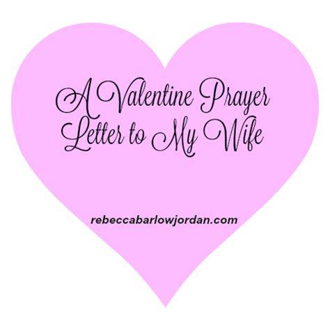 valentine prayer letter   spouse