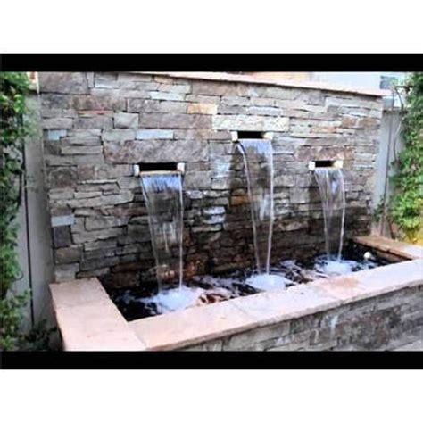 artificial fountains waterfall cascades fountain
