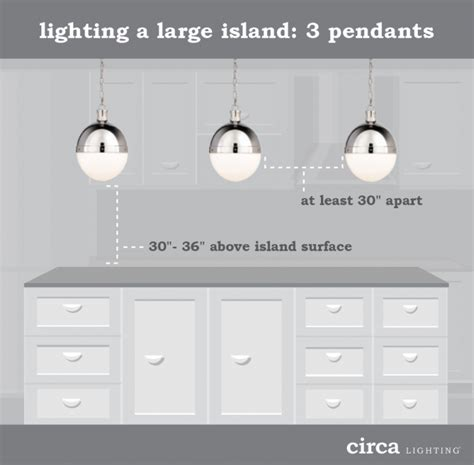 spacing pendant lights kitchen island how to hang pendant lights an island diy e interiors 9373